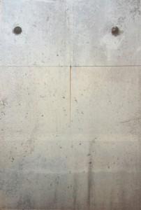 Mit Liebe zum Detail - ein Stück der Mauer auf der Rückseite des Spielplans