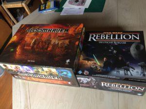 Im direkten Vergleich sieht Star Wars: Rebellion winzig aus